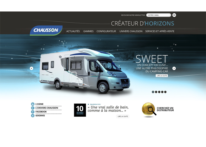 Site internet chausson