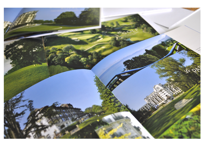 Evian resort interieur brochure